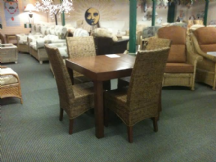 Dallas Table & Four Chairs